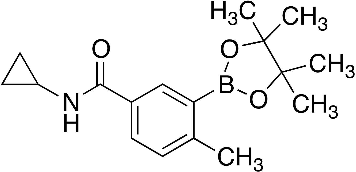 5-Cyclopropylcarbamoyl-2-methylbenzeneboronic acid pinacol ester
