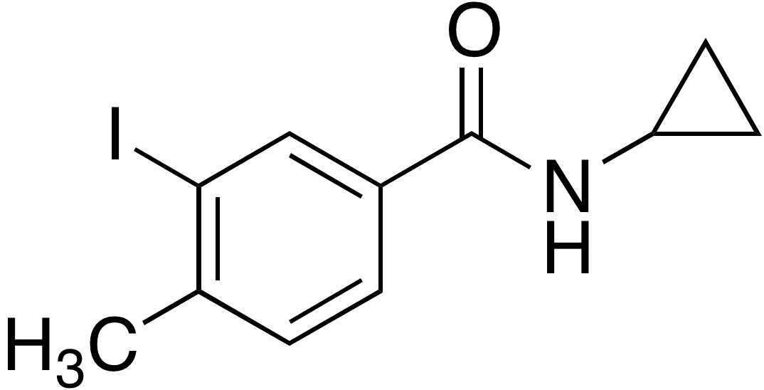 N-Cyclopropyl-3-iodo-4-methylbenzamide