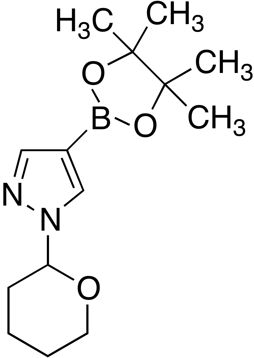 1-(2-Tetrahydropyranyl)-1H-pyrazole-4-boronic acid pinacol ester