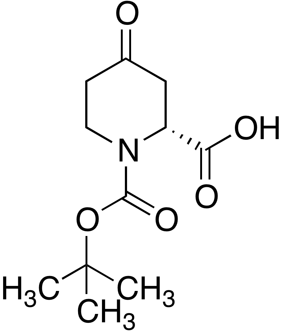 (R)-1-Boc-4-piperidone-2-carboxylic acid