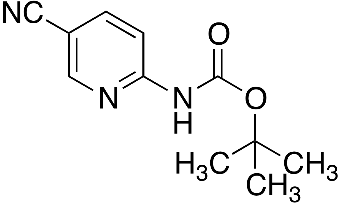 2-(Boc-amino)-5-cyanopyridine