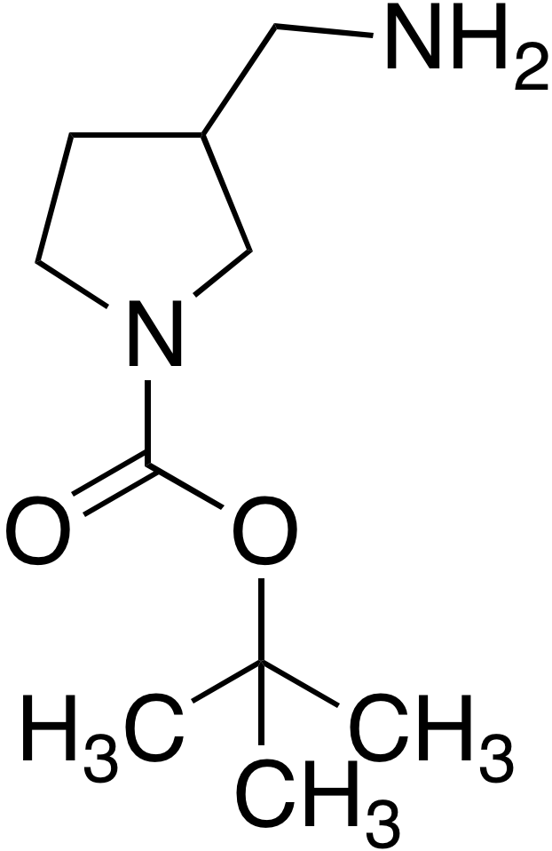 1-Boc-3-(aminomethyl)pyrrolidine