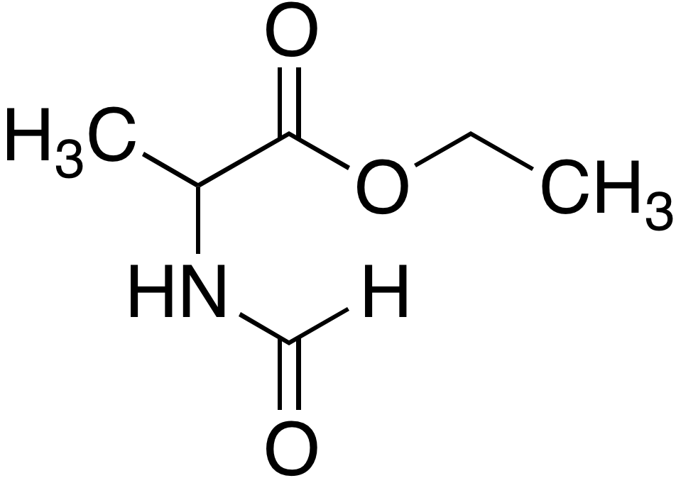 2-Formylaminopropionic acid ethyl ester