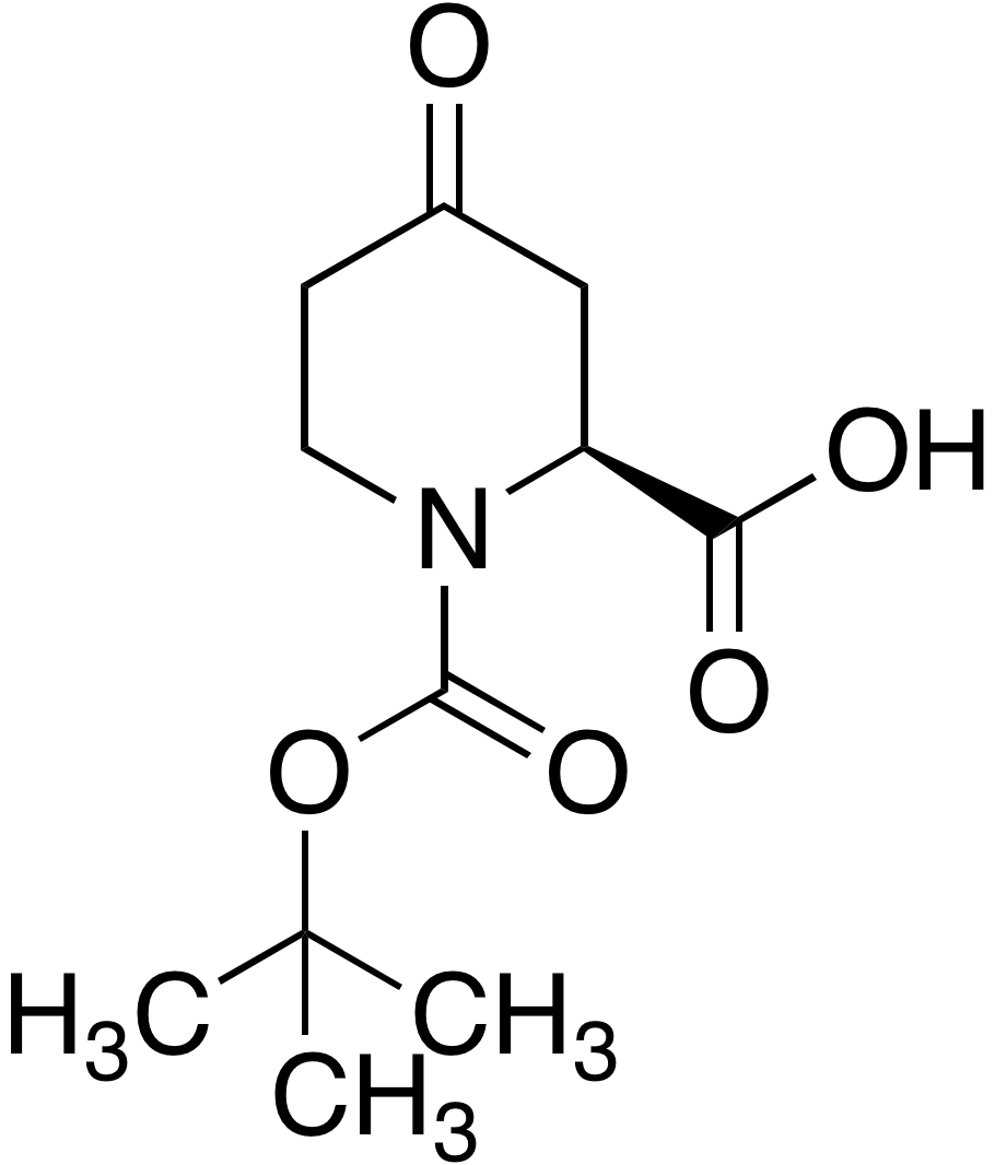 (S)-1-Boc-4-piperidone-2-carboxylic acid