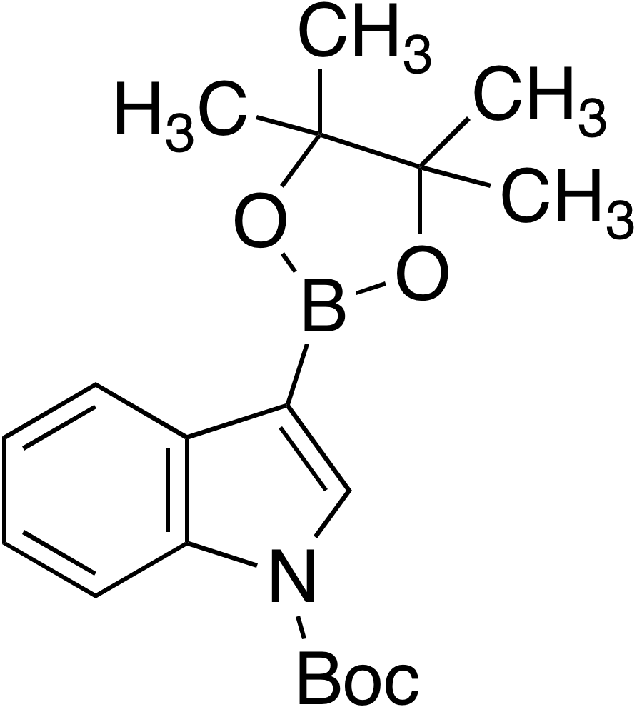 1-Boc-indole-3-boronic acid pinacol ester