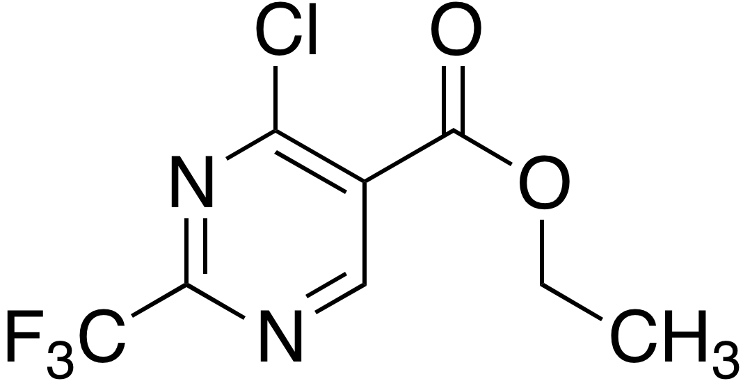 Ethyl 4-chloro-2-(trifluoromethyl)pyrimidine-5-carboxylate