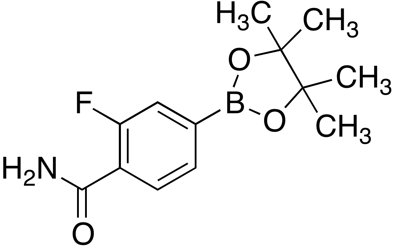 4-Carbamoyl-3-fluorobenzeneboronic acid pinacol ester