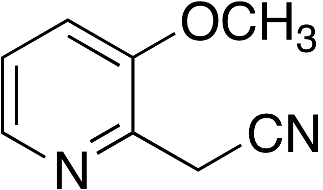 3-Methoxy-2-pyridineacetonitrile