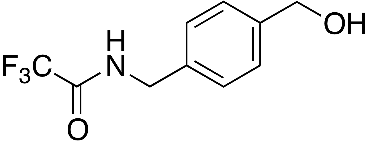 N-(4-Hydroxymethylbenzyl)trifluoroacetamide