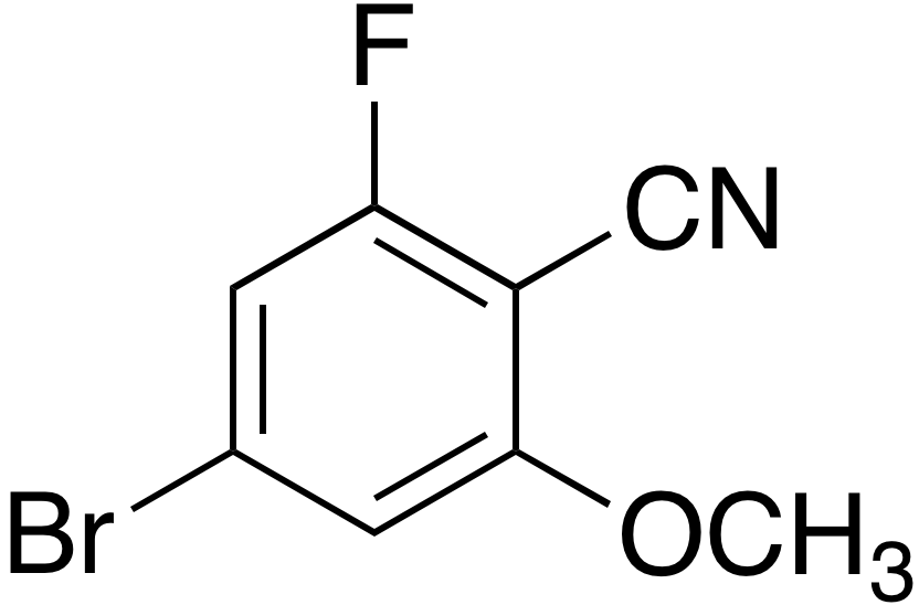 4-Bromo-2-fluoro-6-methoxybenzonitrile