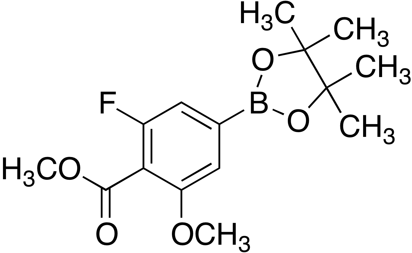 3-Fluoro-5-methoxy-4-(methoxycarbonyl)benzeneboronic acid pinacol ester