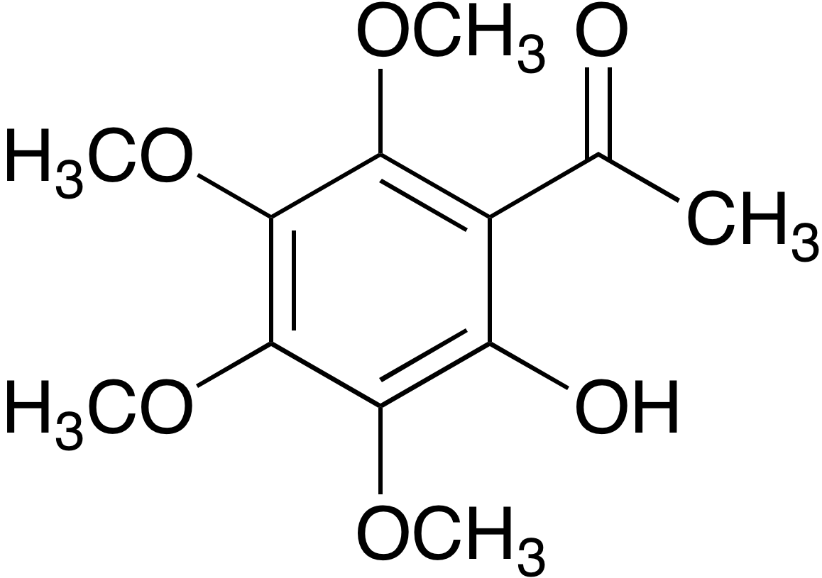 2-Hydroxy-3,4,5,6-tetramethoxyacetophenone
