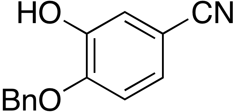 4-Benzyloxy-3-hydroxybenzonitrile
