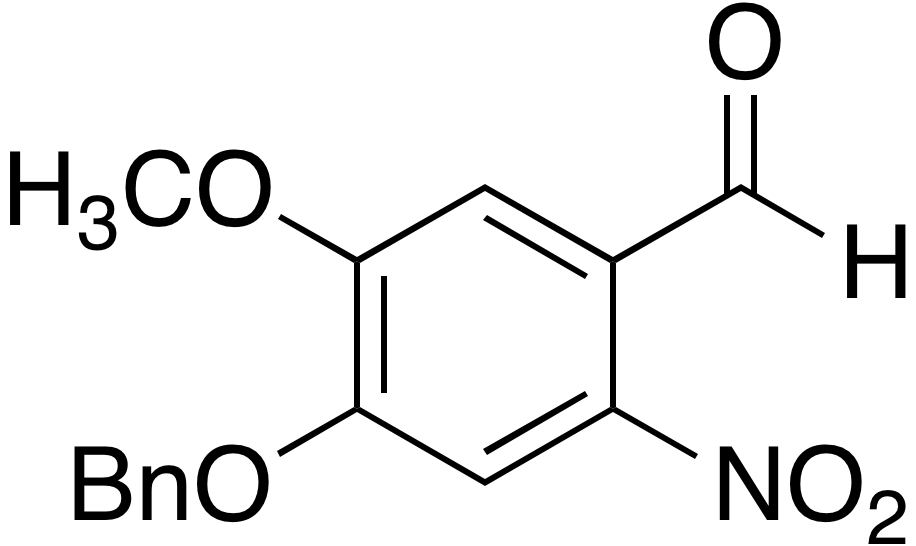 4-Benzyloxy-5-methoxy-2-nitrobenzaldehyde