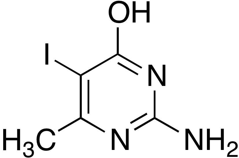 2-Amino-5-iodo-6-methyl-4-pyrimidinol