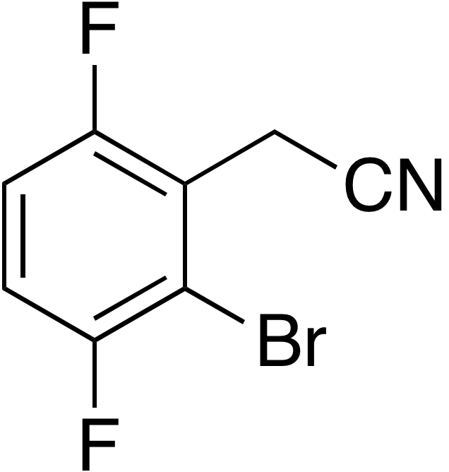 2-Bromo-3,6-difluorophenylacetonitrile