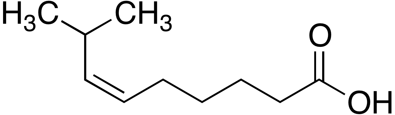 <em>cis-</em>8-Methyl-6-nonenoic acid