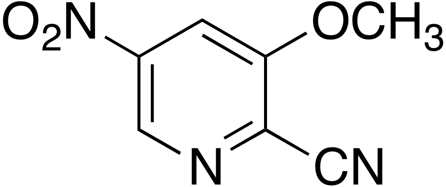 2-Cyano-3-methoxy-5-nitropyridine