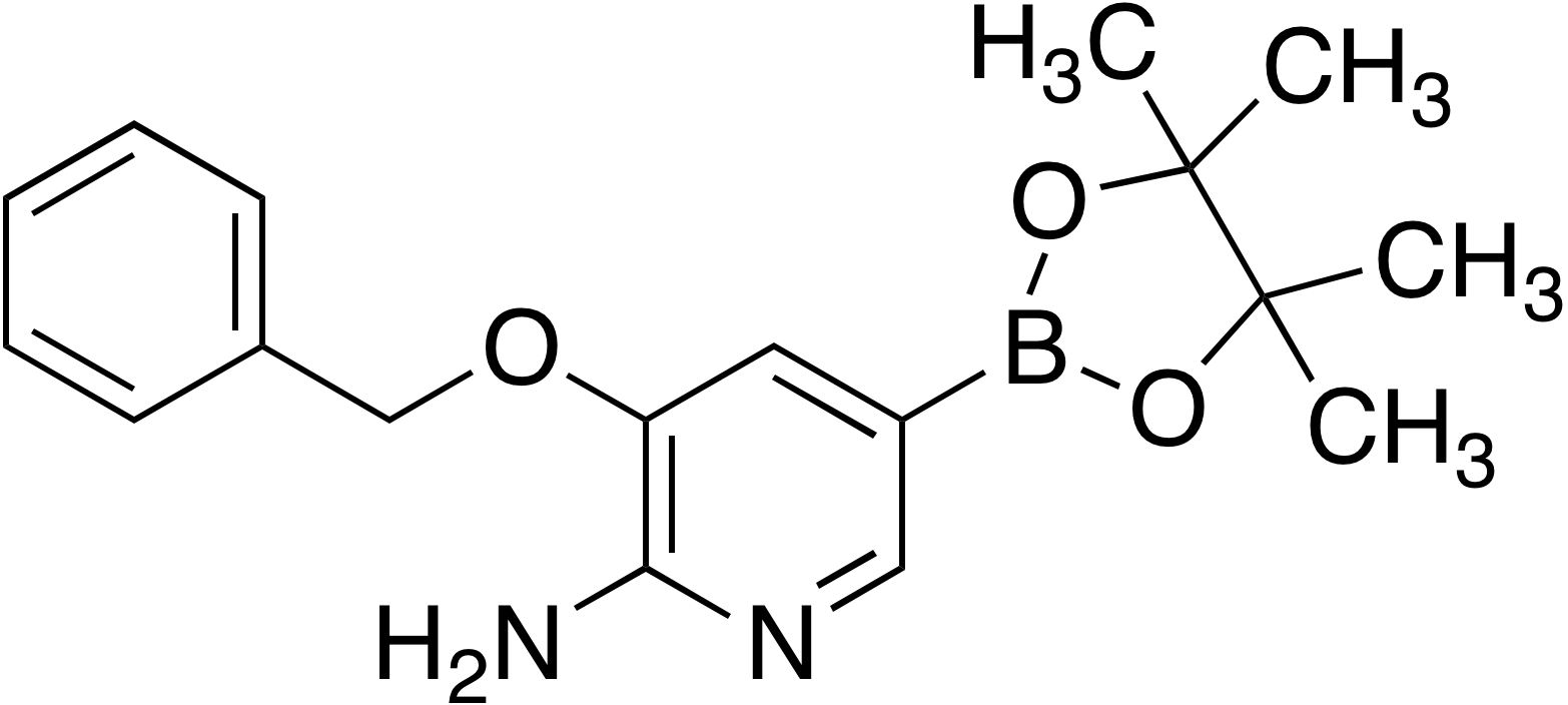 2-Amino-3-benzyloxypyridine-5-boronic acid pinacol ester
