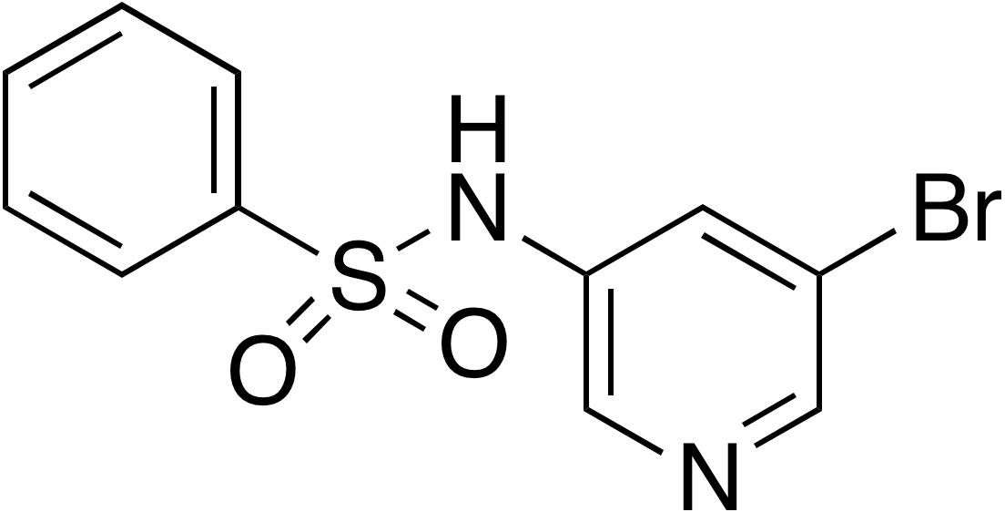 N-(5-Bromo-3-pyridyl)benzenesulfonamide