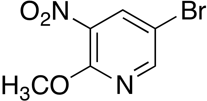5-Bromo-2-methoxy-3-nitropyridine