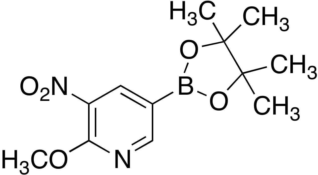 2- Methoxy-3-nitropyridine-5-boronic acid pinacol ester