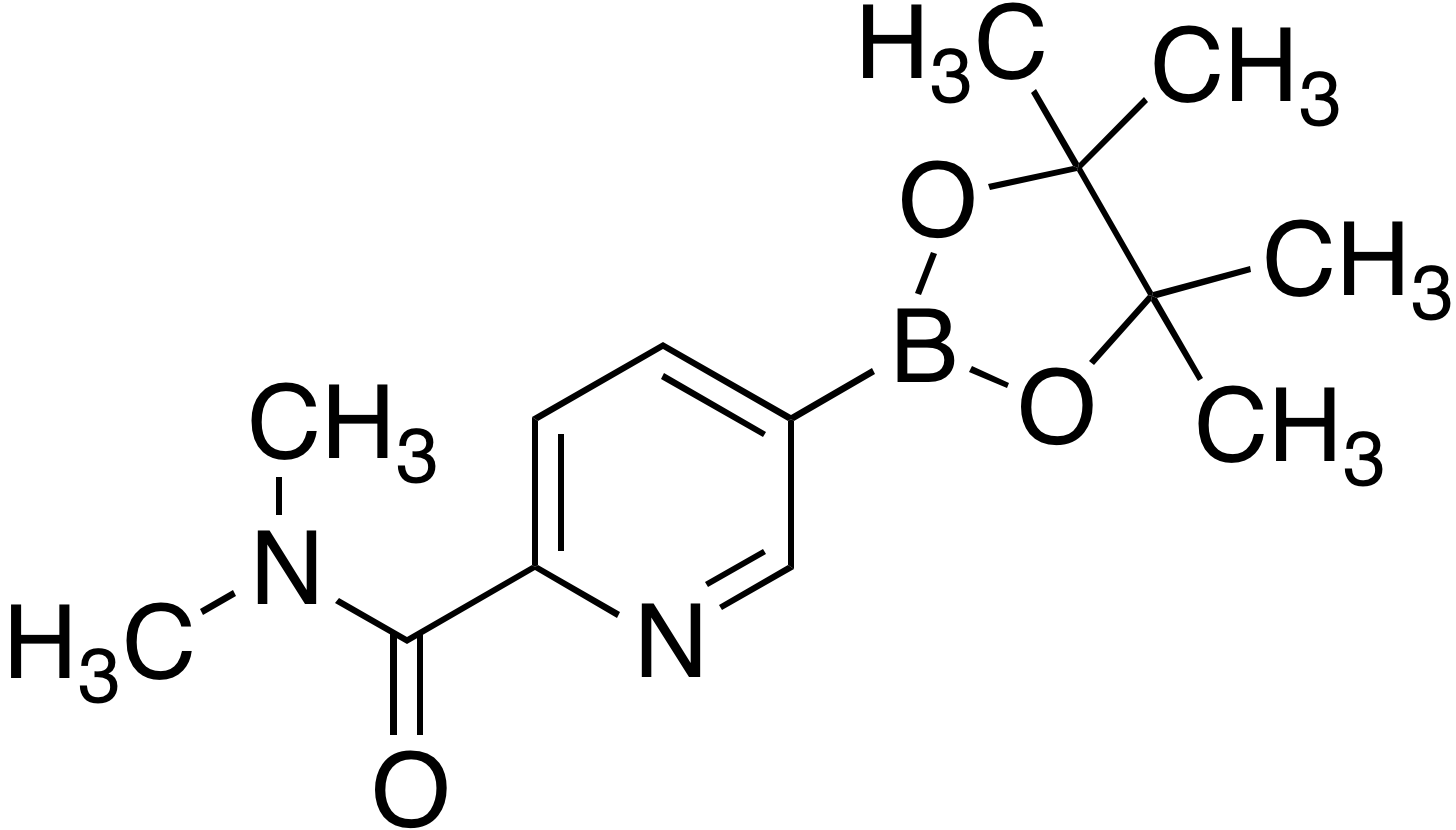 2-(Dimethylaminocarbonyl)pyridine-5-boronic acid pinacol ester