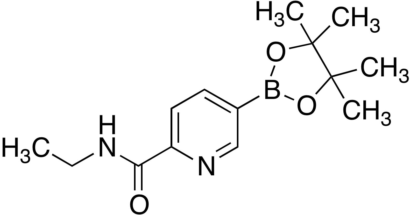2-(Ethylaminocarbonyl)pyridine-5-boronic acid pinacol ester
