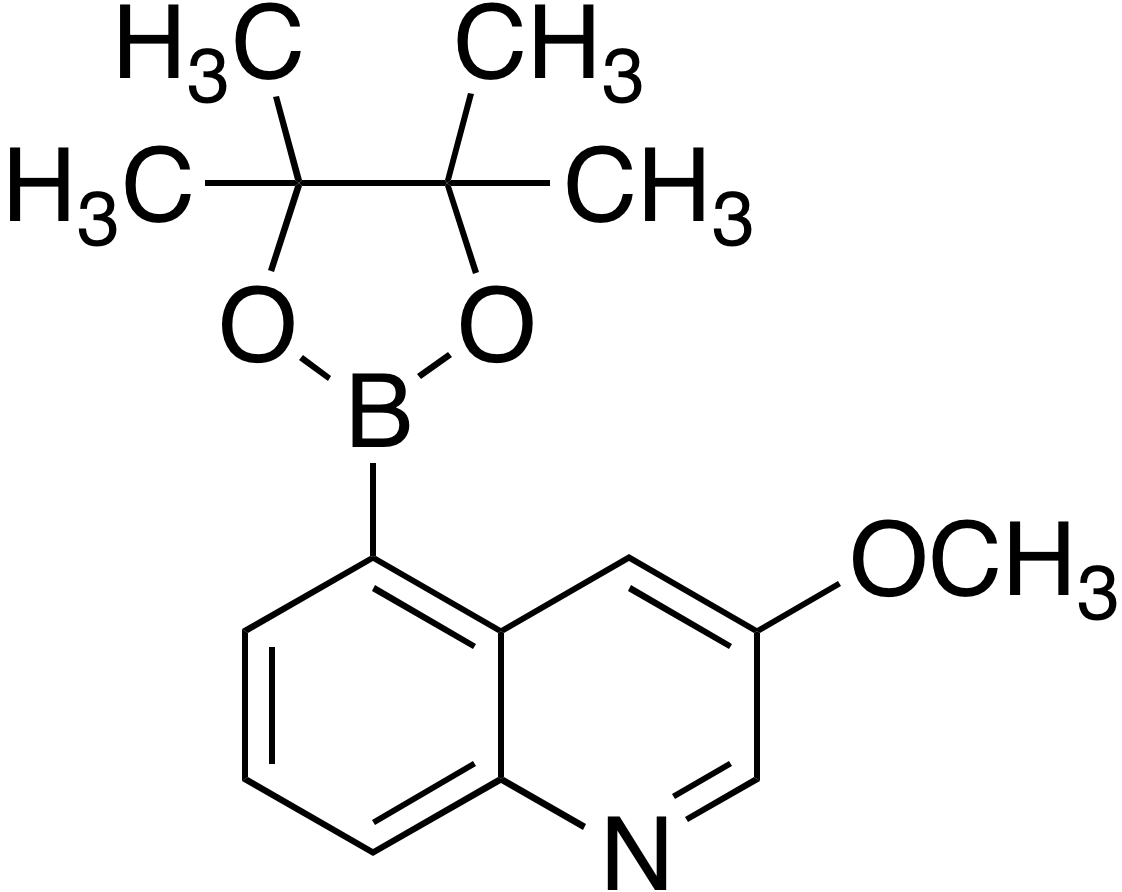 3-Methoxyquinoline-5-boronic acid pinacol ester