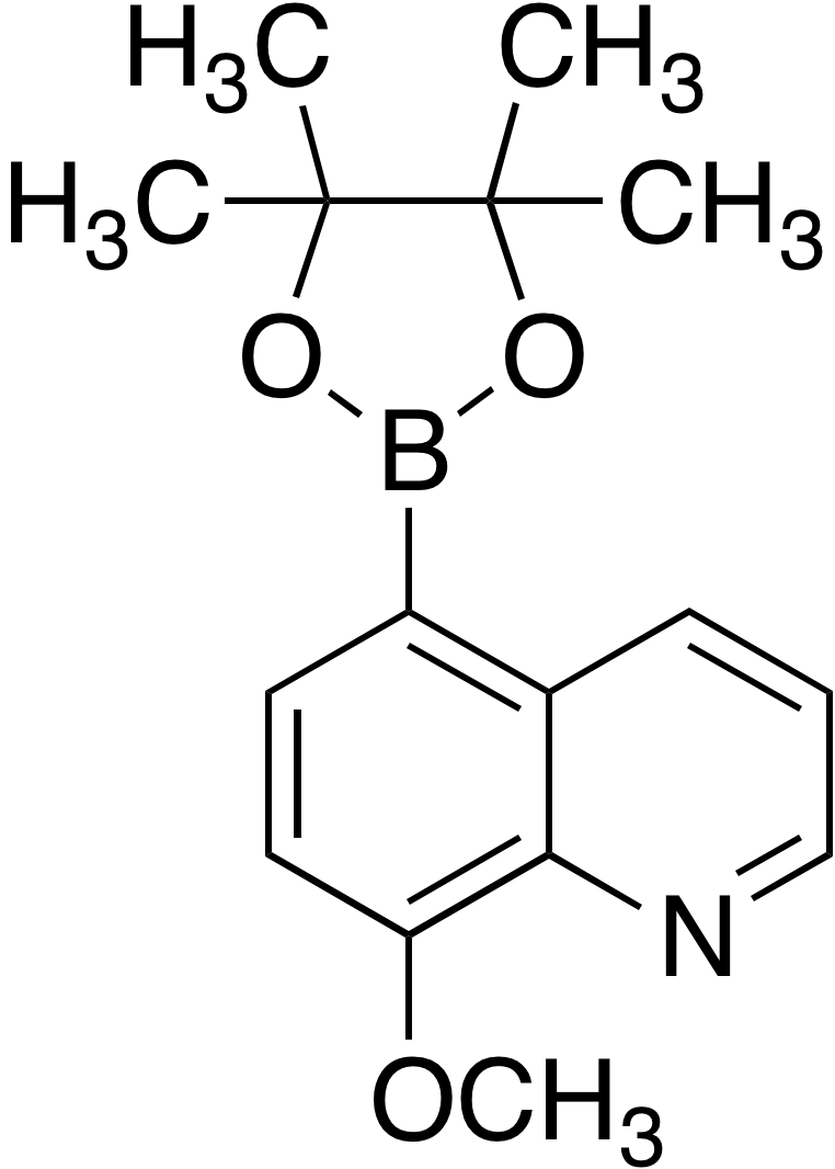 8-Methoxyquinoline-5-boronic acid pinacol ester