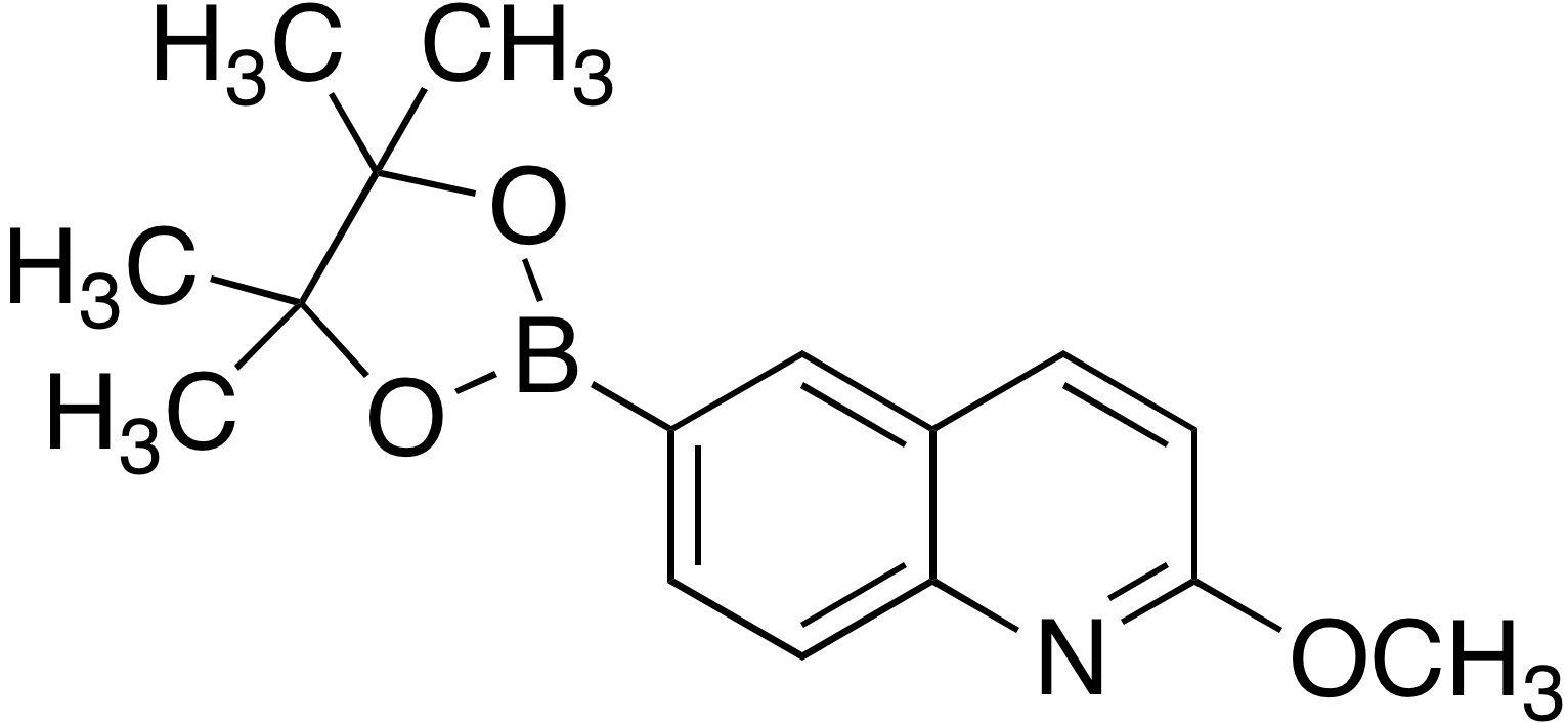 2-Methoxyquinoline-6-boronic acid pinacol ester