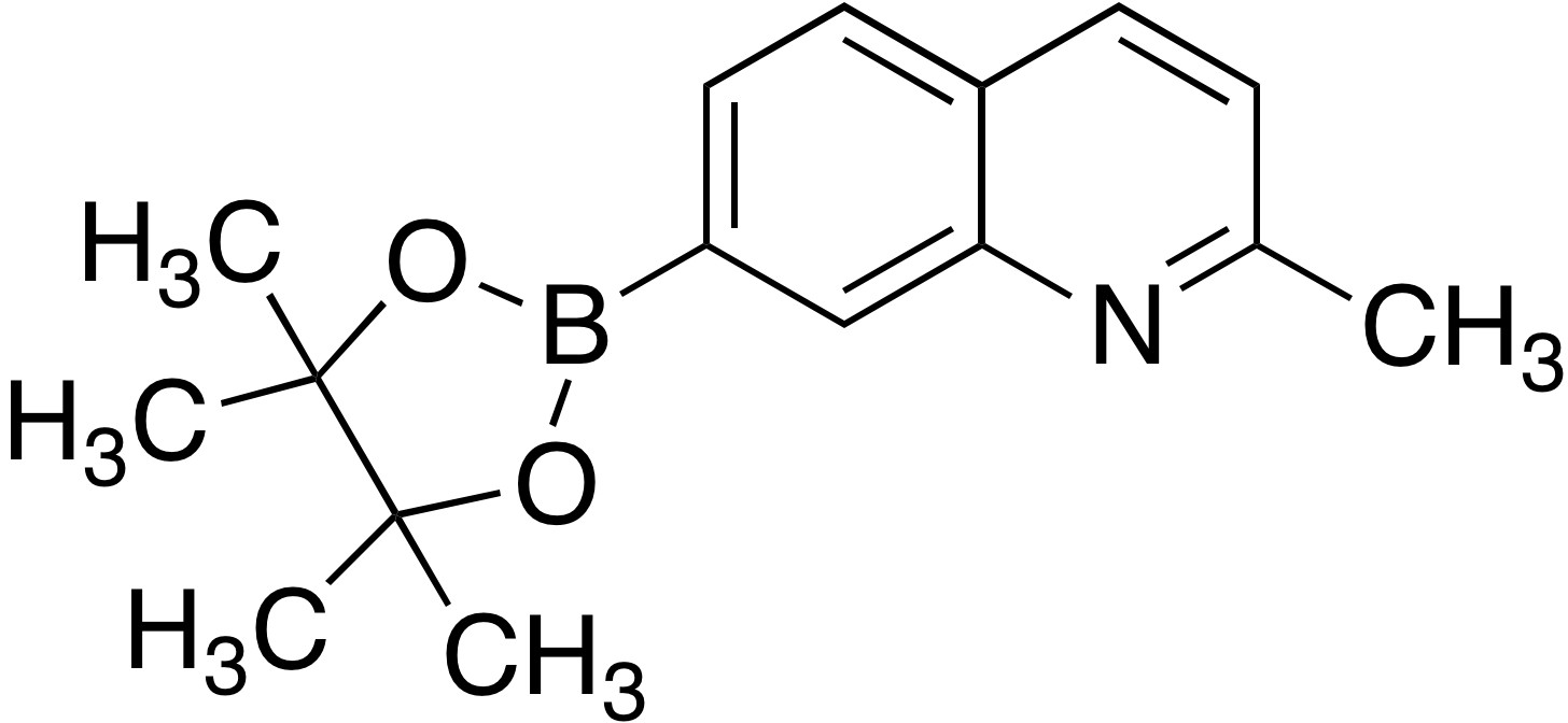 2-Methylquinoline-7-boronic acid pinacol ester