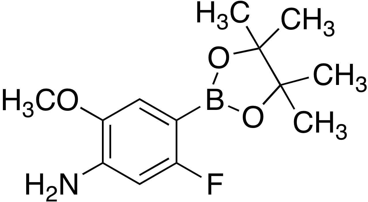4-Amino-2-fluoro-5-methoxybenzeneboronic acid pinacol ester