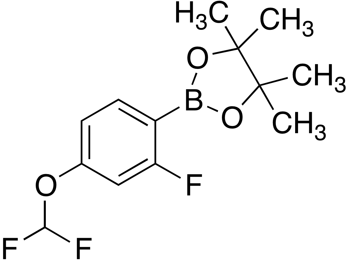 4-Difluoromethoxy-2-fluorobenzeneboronic acid pinacol ester