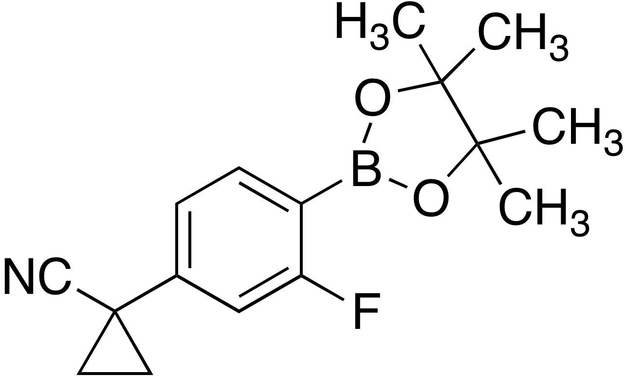 4-(1-Cyanocyclopropyl)-2-fluorobenzeneboronic acid pinacol ester