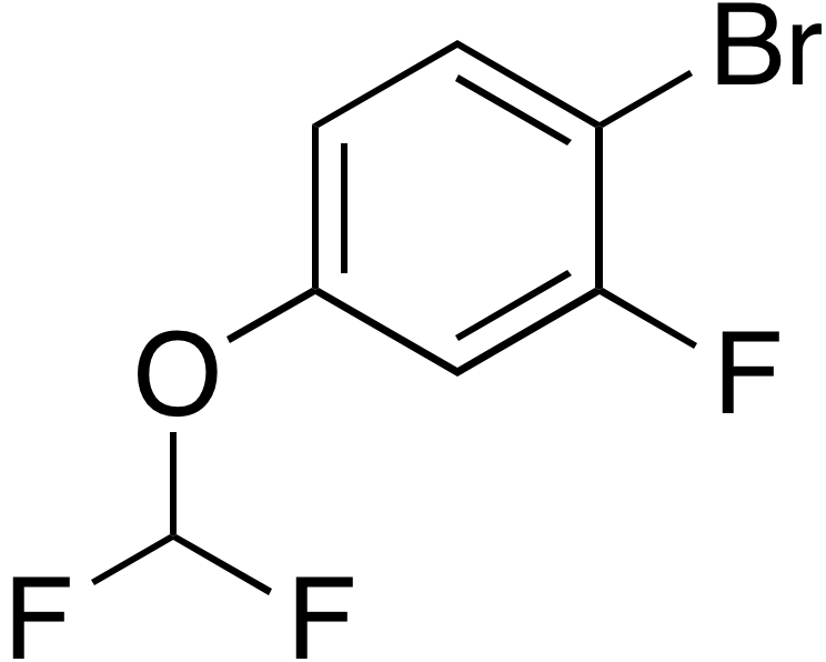 1-Bromo-4-difluoromethoxy-2-fluorobenzene