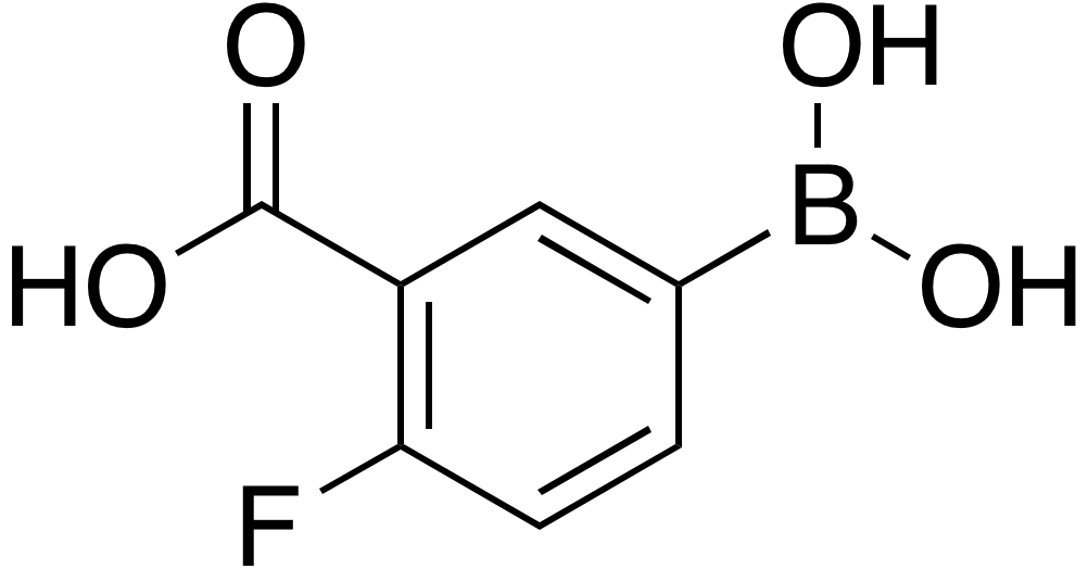 3-Carboxy-4-fluorobenzeneboronic acid