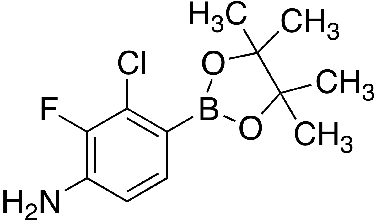 4-Amino-2-chloro-3-fluorobenzeneboronic acid pinacol ester
