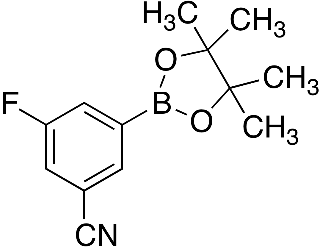 3-Cyano-5-fluorobenzeneboronic acid pinacol ester