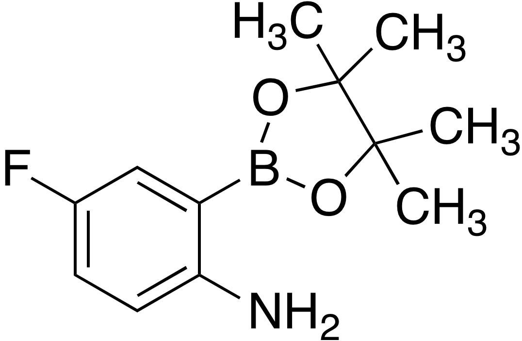 2-Amino-5-fluorobenzeneboronic acid pinacol ester