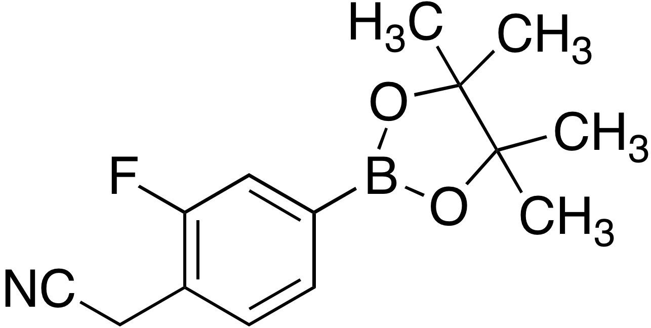 4-Cyanomethyl-3-fluorobenzeneboronic acid pinacol ester