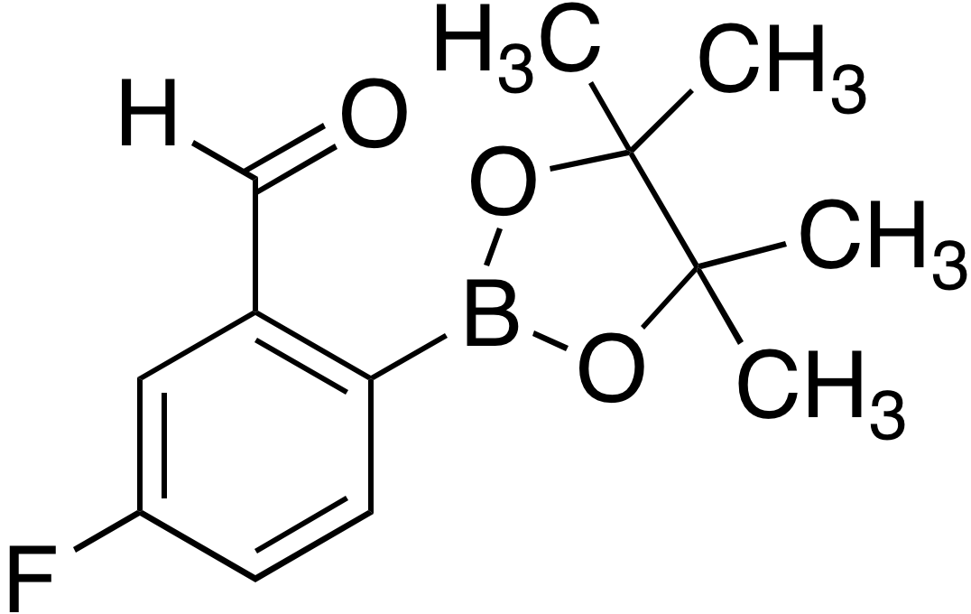4-Fluoro-2-formylbenzeneboronic acid pinacol ester