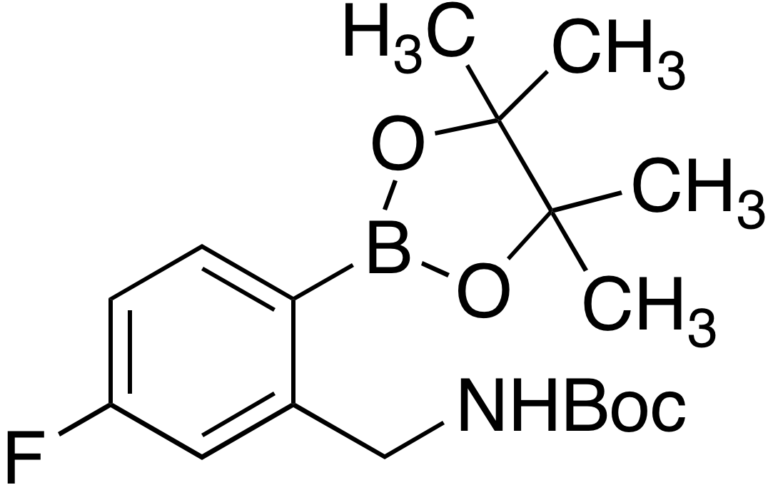 2-(Boc-aminomethyl)-4-fluorobenzeneboronic acid pinacol ester