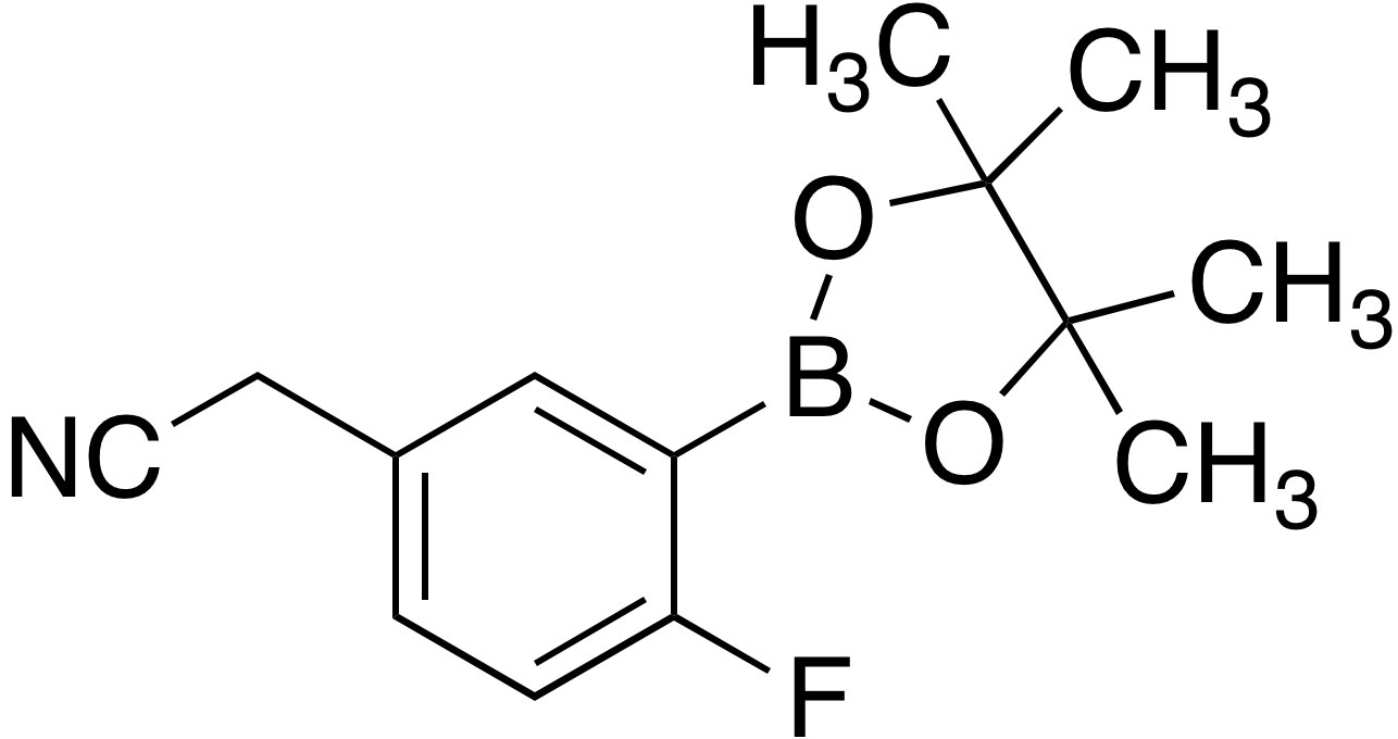 5-Cyanomethyl-2-fluorobenzeneboronic acid pinacol ester