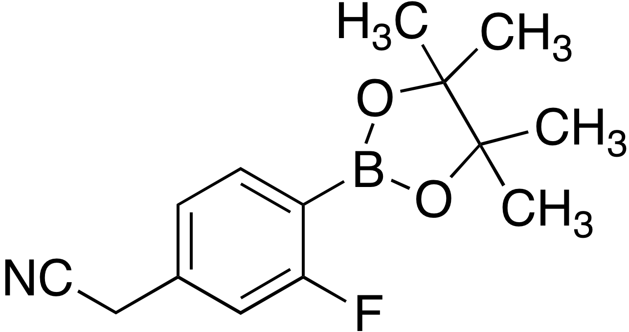 4-Cyanomethyl-2-fluorobenzeneboronic acid pinacol ester