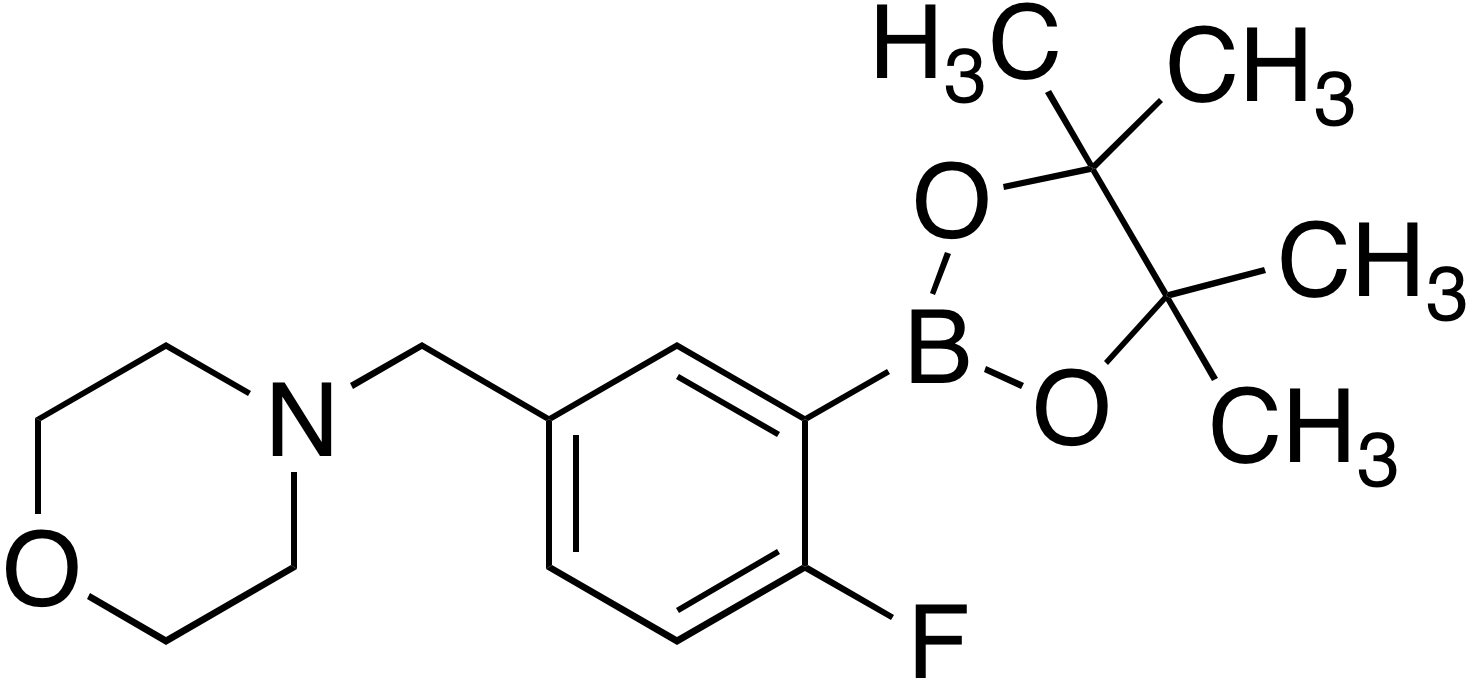 2-Fluoro-5-(4-morpholinylmethyl)benzeneboronic acid pinacol ester
