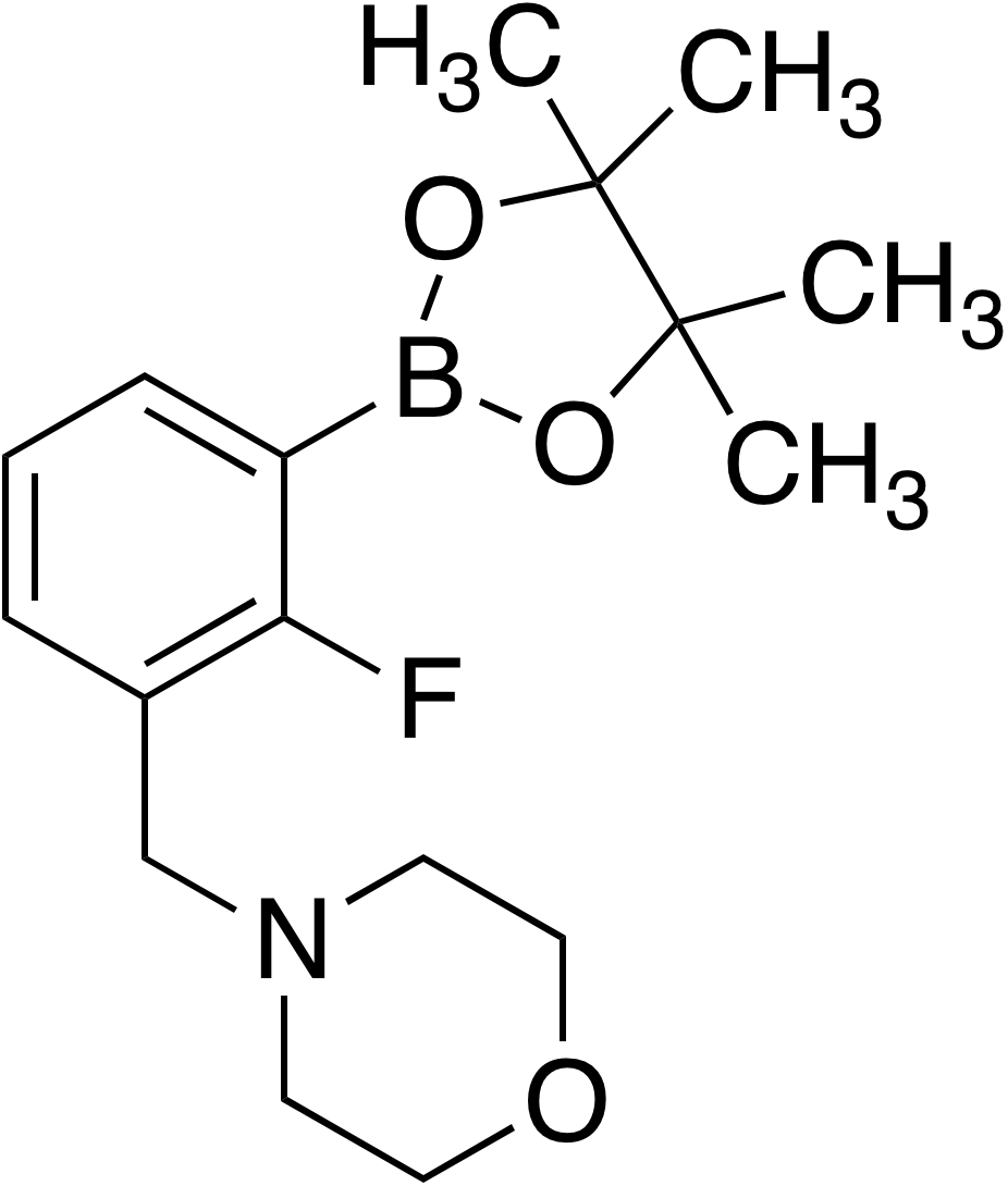2-Fluoro-3-(4-morpholinylmethyl)benzeneboronic acid pinacol ester