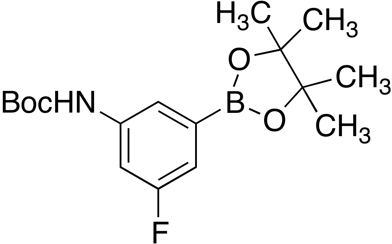 3-(Boc-amino)-5-fluorobenzeneboronic acid pinacol ester