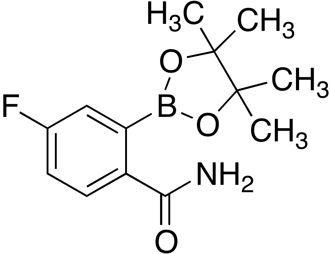 2-Carbamoyl-5-fluorobenzeneboronic acid pinacol ester