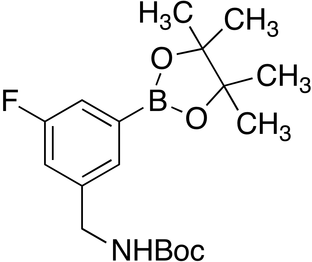 3-(Boc-aminomethyl)-5-fluorobenzeneboronic acid pinacol ester